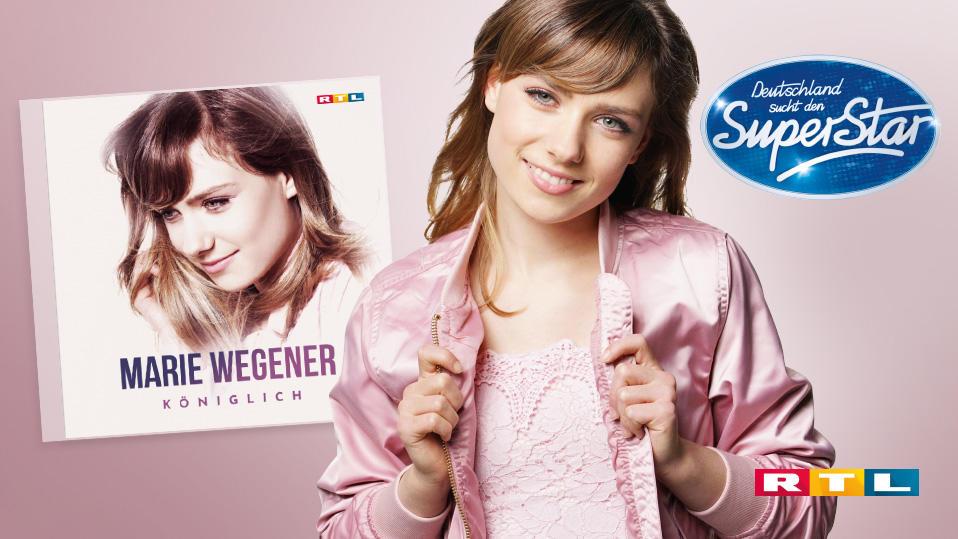 Das Debütalbum von Superstar Marie Wegener erscheint gibt es ab sofort im Handel.