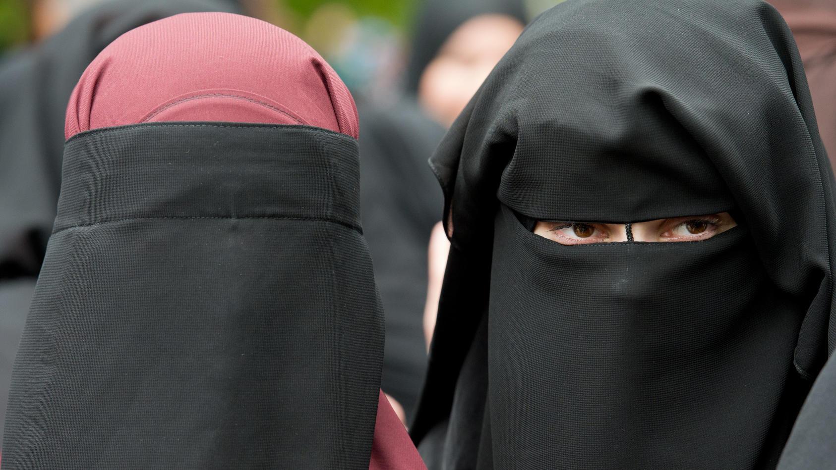 In Dänemark darf man sein Gesicht von August an in der Öffentlichkeit nicht mehr verhüllen. Bilder wie diese gehören dann der Vergangenheit an.