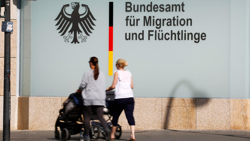 An office building of the Federal Office for Migration and Refugees (BAMF) is pictured in Berlin, Germany May 24, 2018. REUTERS/Fabrizio Bensch
