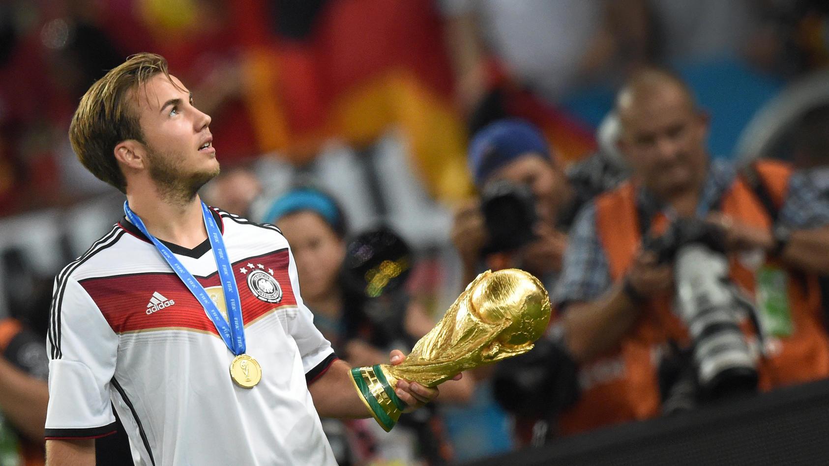 Schoiss im WM-Finale 2014 gegen Argentinien den Siegtreffer: Mario Götze
