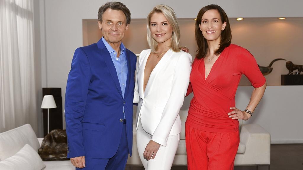 GZSZ: Wolfgang Bahro, Valentina Pahde und Ulrike Frank