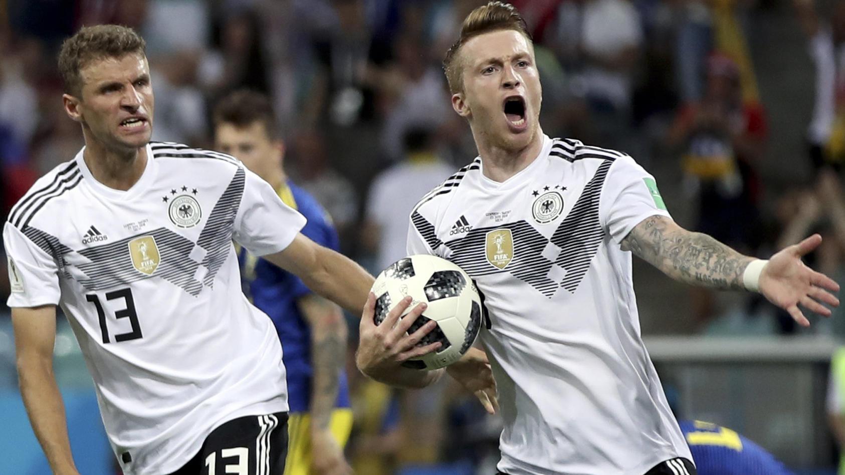 Marco Reus war ein entscheidender Faktor im deutschen Offensivspiel.