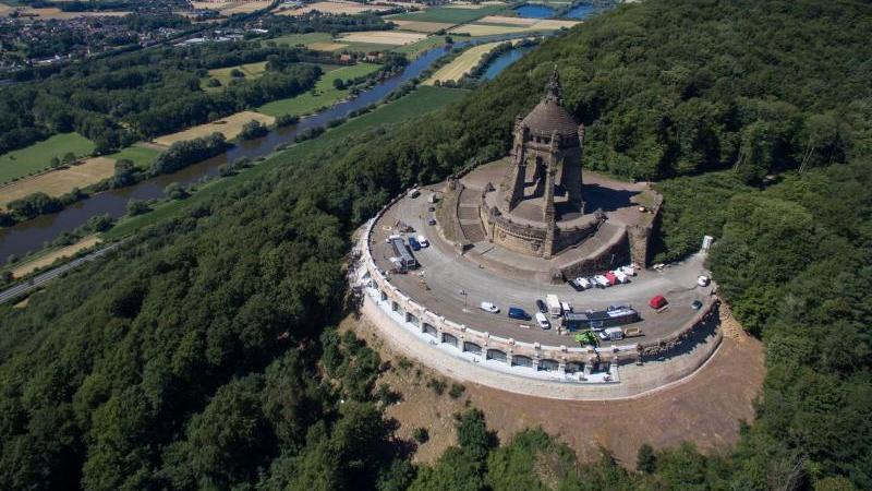 Kaiser-Wilhelm-Denkmal in Porta-Westfalica