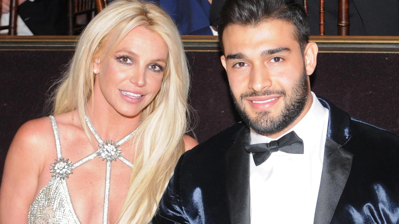 Britney Spears und Sam Asghari sind seit drei Jahren ein Paar