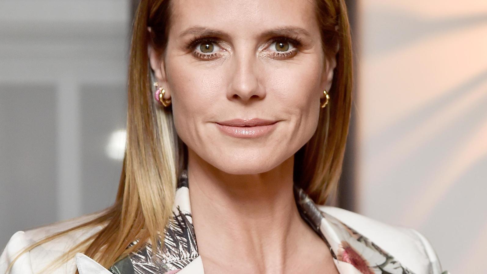 Heidi Klum hat scheinbar kein Problem mit ihrem Alter