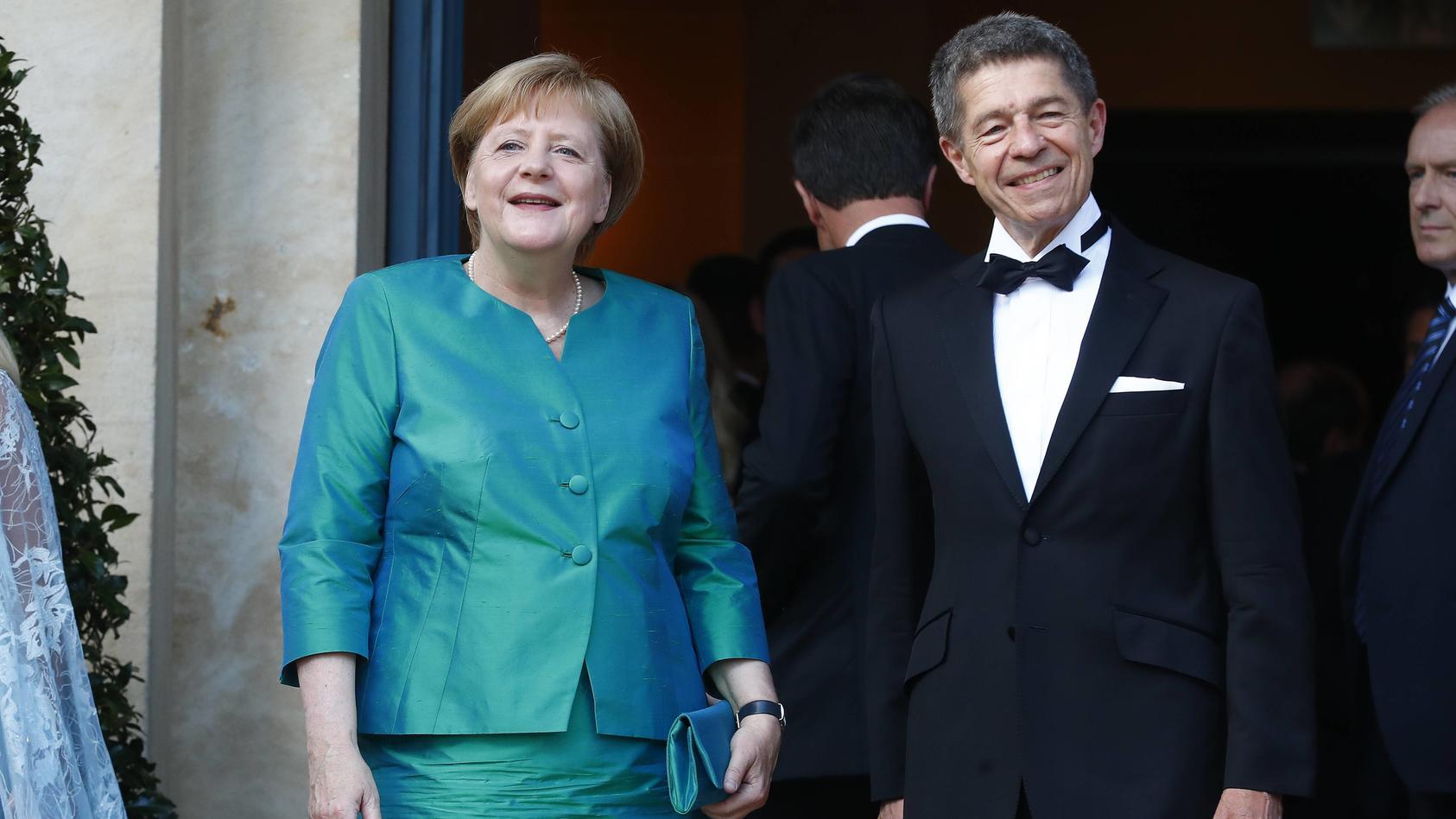 Angela Merkel und Joachim Sauer.