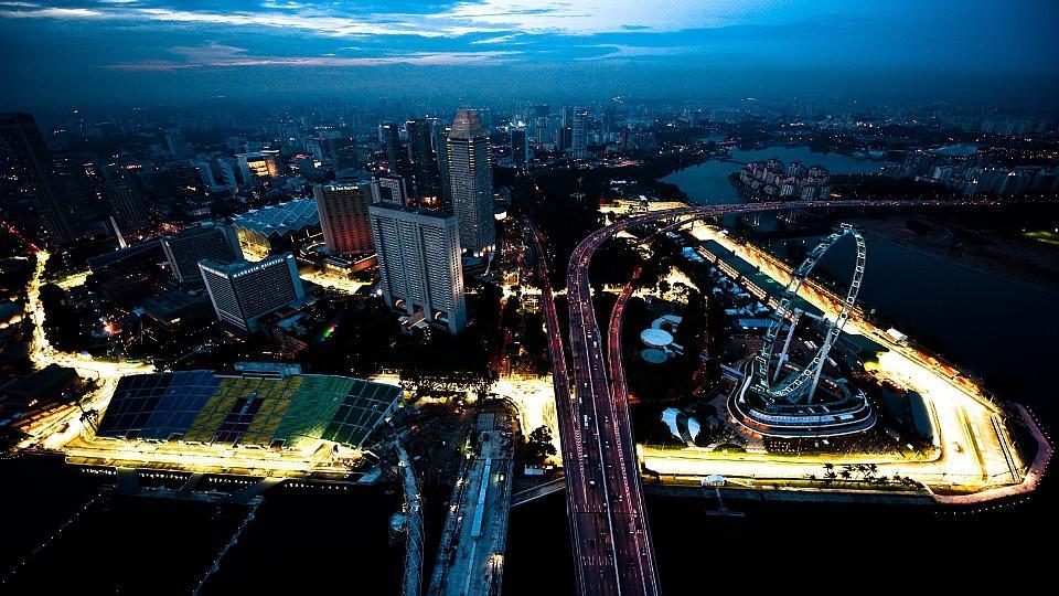 Das Nachtrennen in Singapur war vor der Pandemie eines der Highlights im GP-Kalender