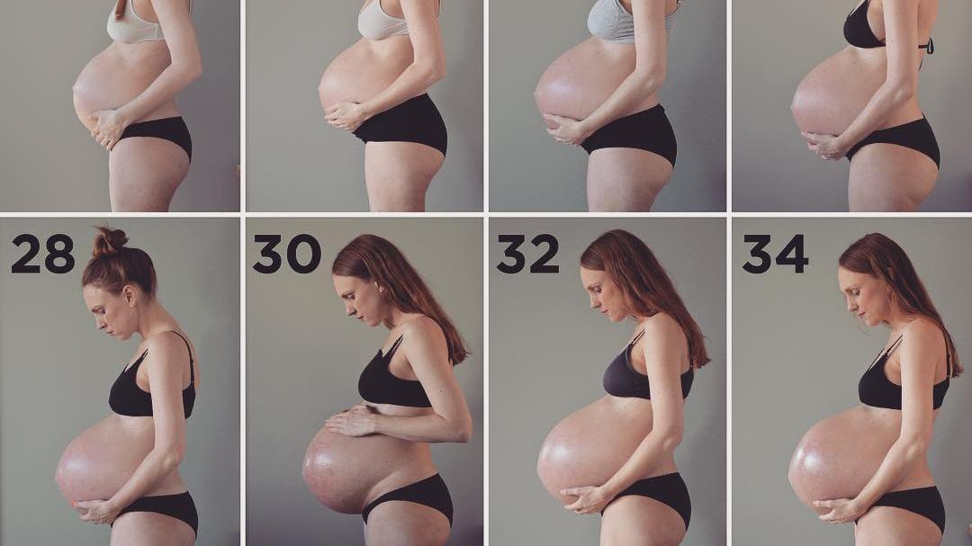 Man schwangerschaftsbauch einen erkennt woran Schwangerschaftszeichen: 9