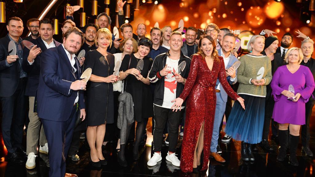 Die Gewinner des Comedypreises 2018.
