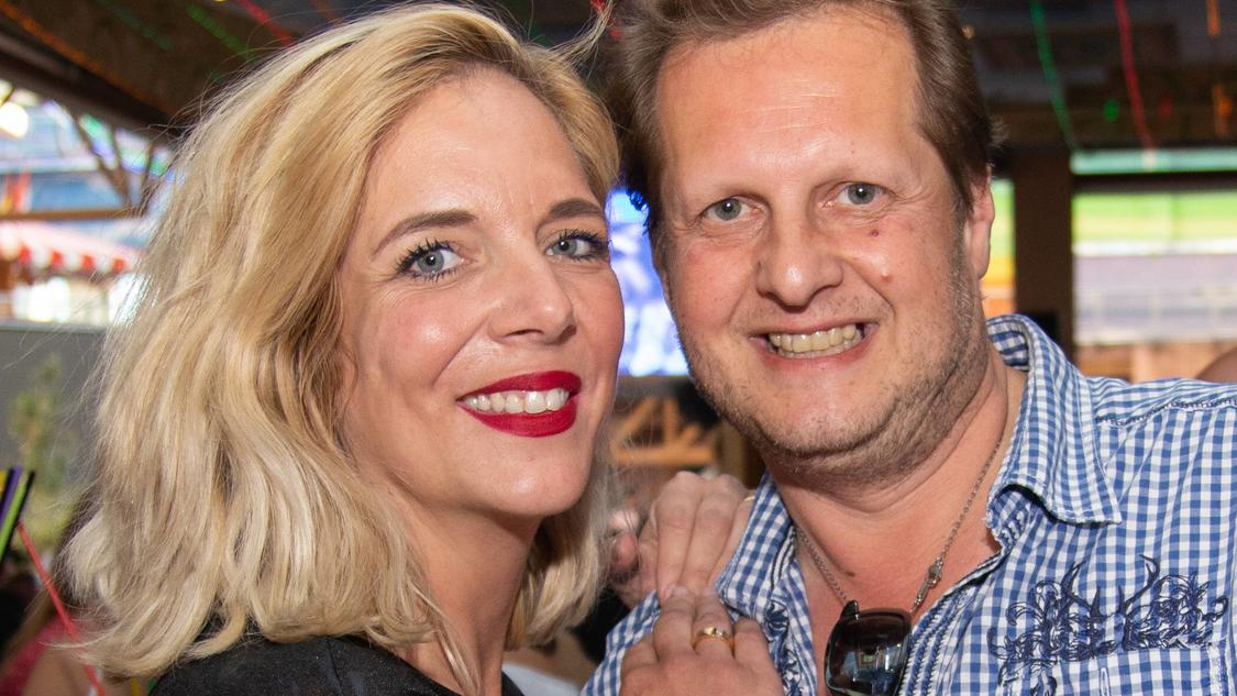 Danni verlor ihren Mann, Jens Büchner, 2018 an den Krebs.