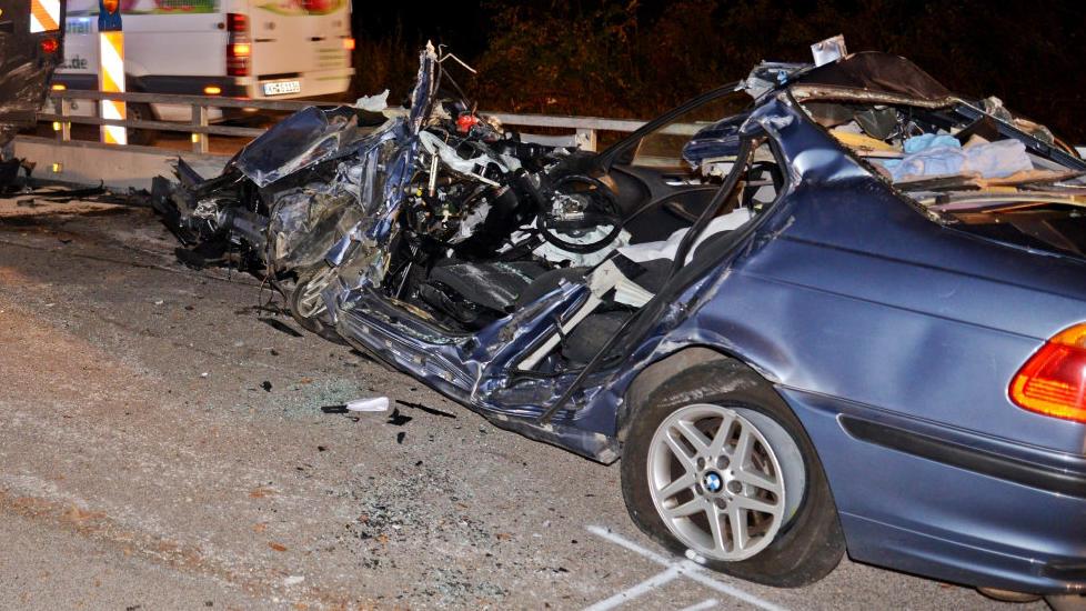 Unfall auf der A61