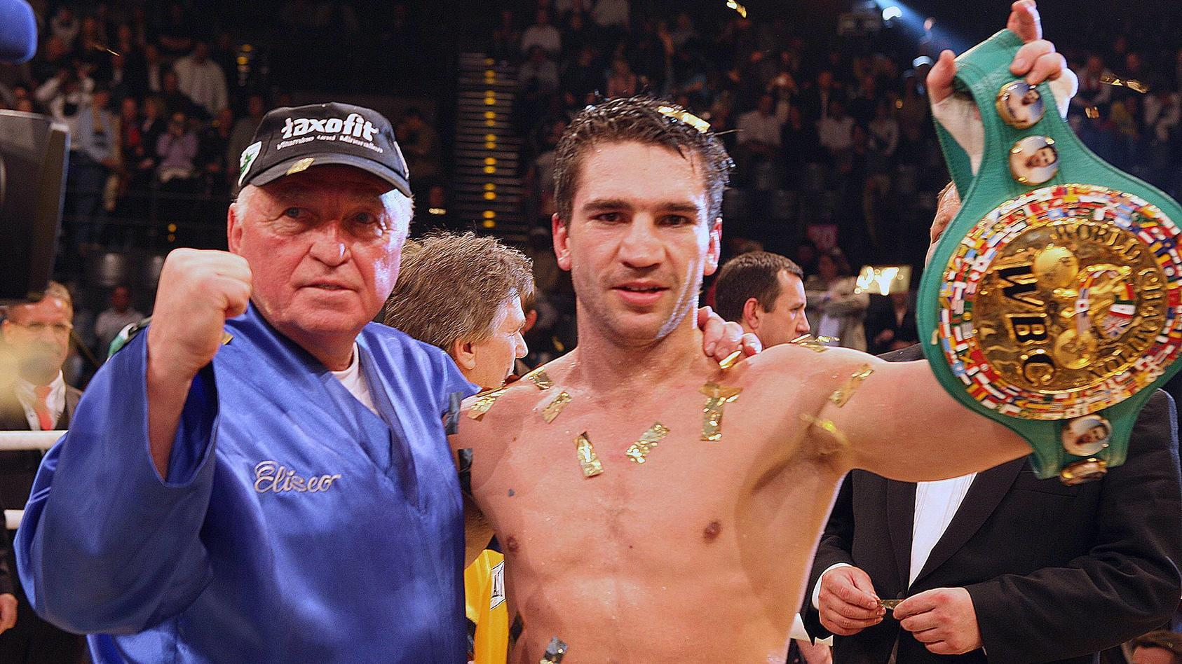 Markus Beyer und Ulli Wegner gewannen dreimal den WM-Titel im Supermittelgewicht