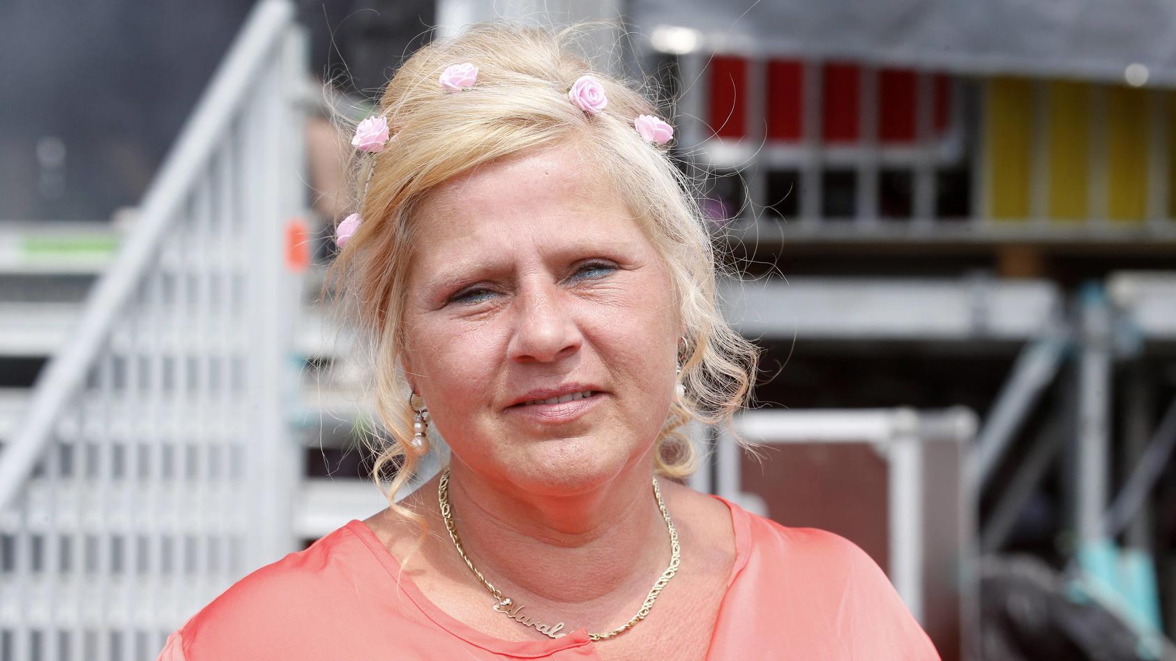 Wollny-Familienoberhaupt Silvia freut sich auf den Nachwuchs.