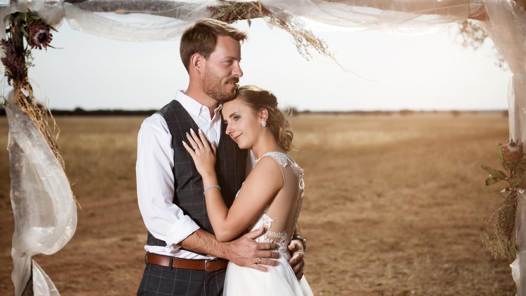 """2018 heiratete das """"Bauer sucht Frau""""-Traumpaar."""