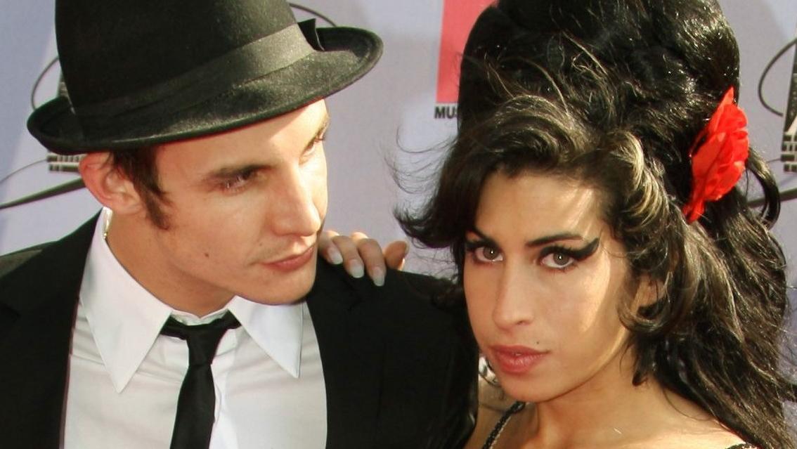 Amy Winehouse und ihr Ehemann Blake Fielder-Civil kommen in Los Angeles zur Verleihung der MTV Movie Awards 2007