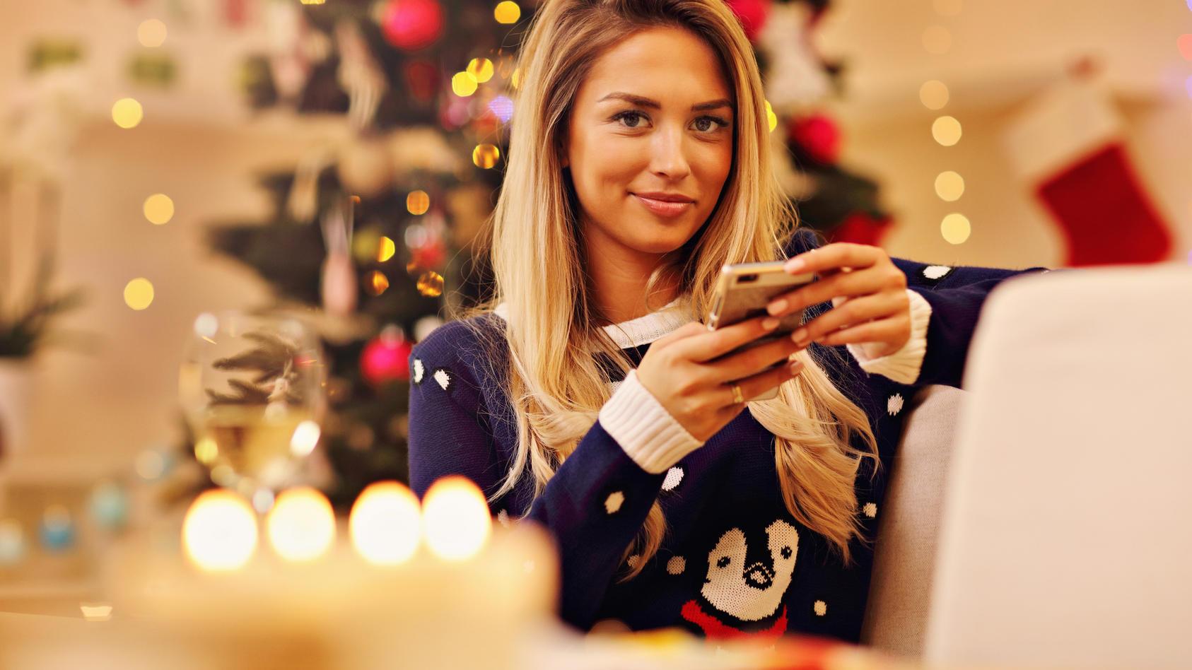 Suchen Sie Sprüche, die Sie an Weihnachten verschicken können?