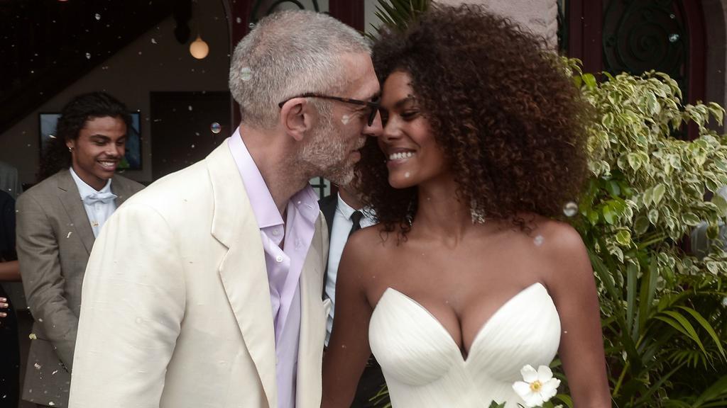 Vincent Cassel und Tina Kunakey gaben sich im August 2018 in Frankreich das Jawort.