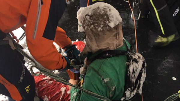 Snowboarder Leon Bareither gerettet