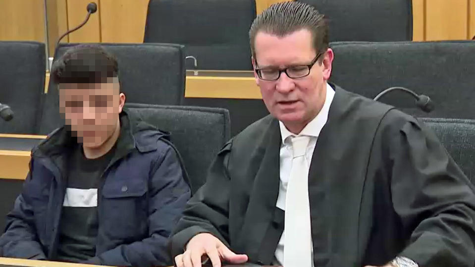 Seyed M. , Rechtsanwalt Stephan Kreuels.