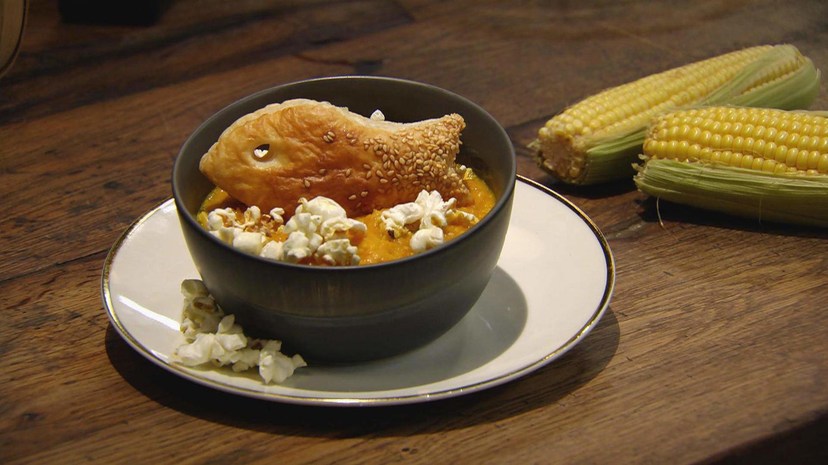 Mach mal Mais!: Mais-Möhren-Suppe