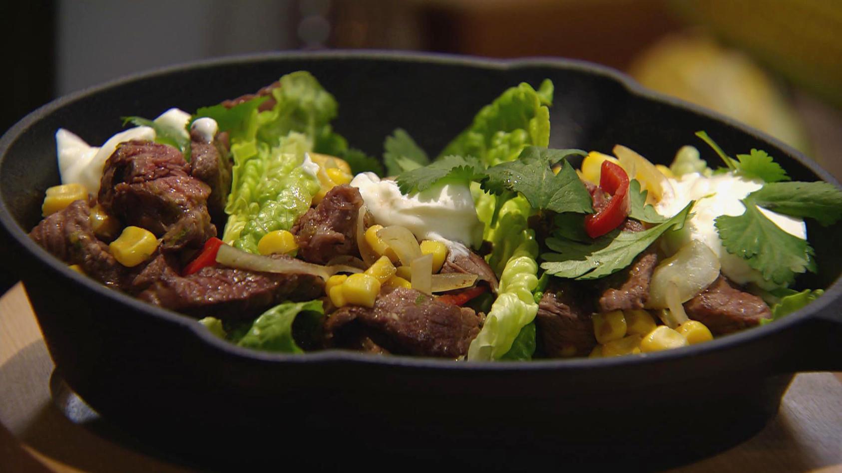 Mach mal Mais!: Rindfleisch-Mais-Pfanne