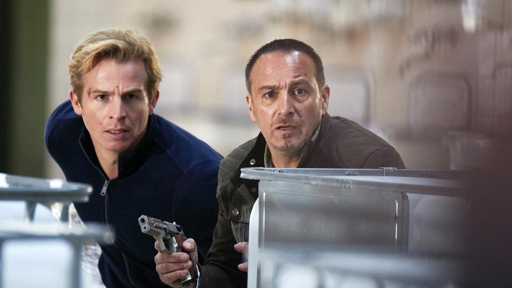 Paul (Daniel Roesner, l.) und Semir (Erdogan Atalay) gehen noch bis Ende des Jahres zusammen auf Verbrecherjagd.