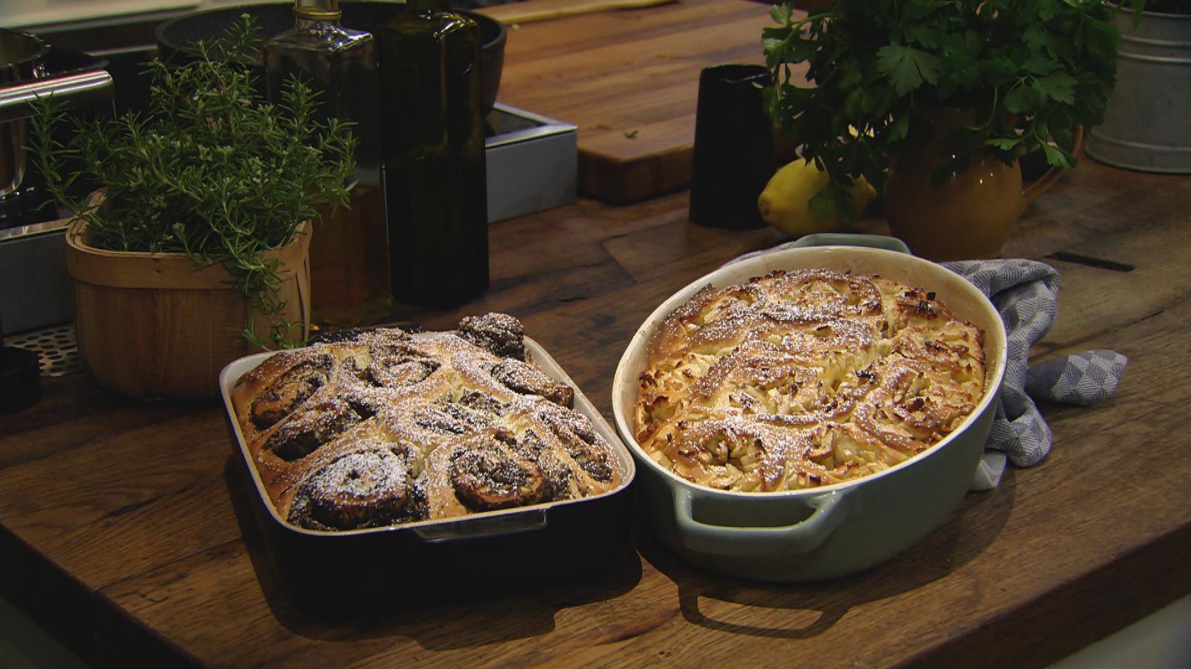 Hygge – so schmeckt Skandinavien: Gefüllte Hefeschnecken
