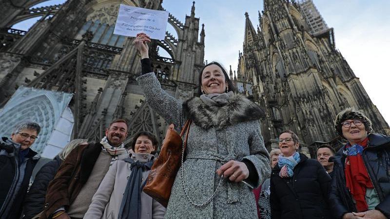 Gästeführer erklären Touristen in deutschen Städten Land und Leute. Dabei ist immer mehr Entertainment gefragt. Foto: Oliver Berg