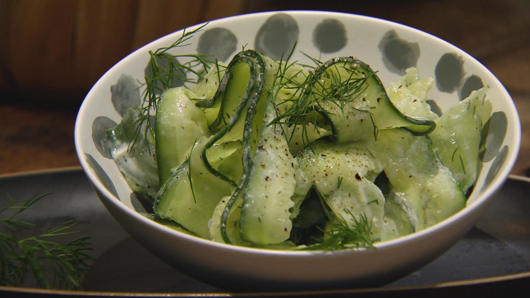 Für Jung und Alt – Das schmeckt immer: Gurkensalat