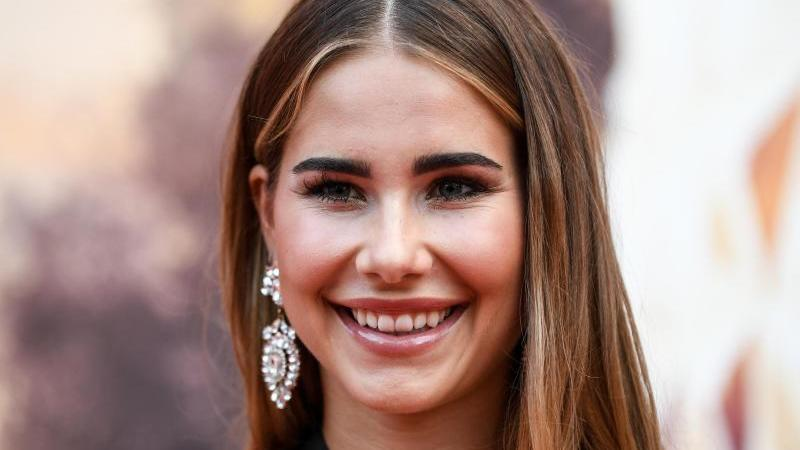 Ex-Miss Germany Anahita Rehbein ist Mama geworden.