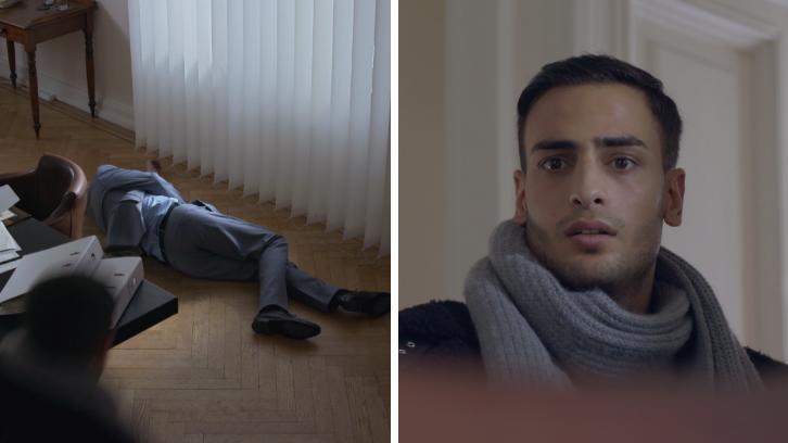 GZSZ: Nihat sieht, wie sein Vater zusammenbricht.