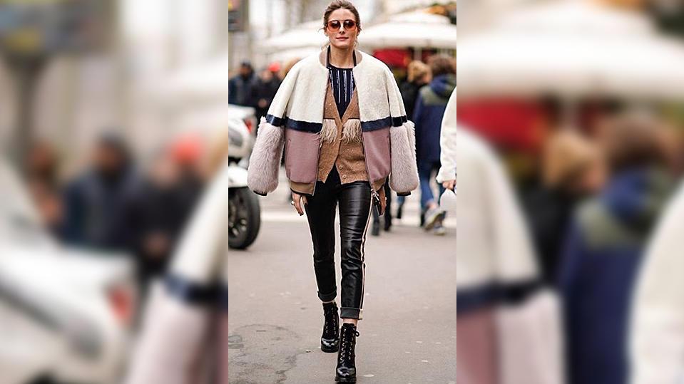 Mode-Influencerin Olivia Palermo macht's vor: Das ist der Layering-Look!