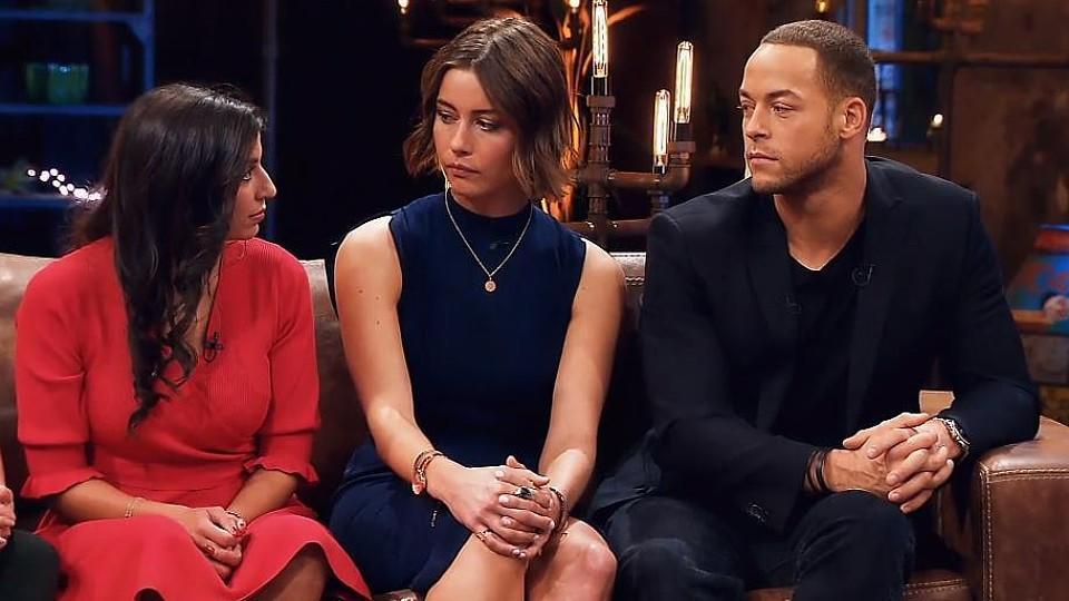 """Eva Benetatou,  Jenny Lange und Andrej Mangold : Im """"Sommerhaus der Stars"""" konnten sie sich nicht leiden, haben sie sich jetzt vertragen?"""