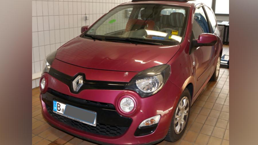 Mit diesem Renault Twingo fuhr Florian R. am Tag von Rebeccas Verschwinden.