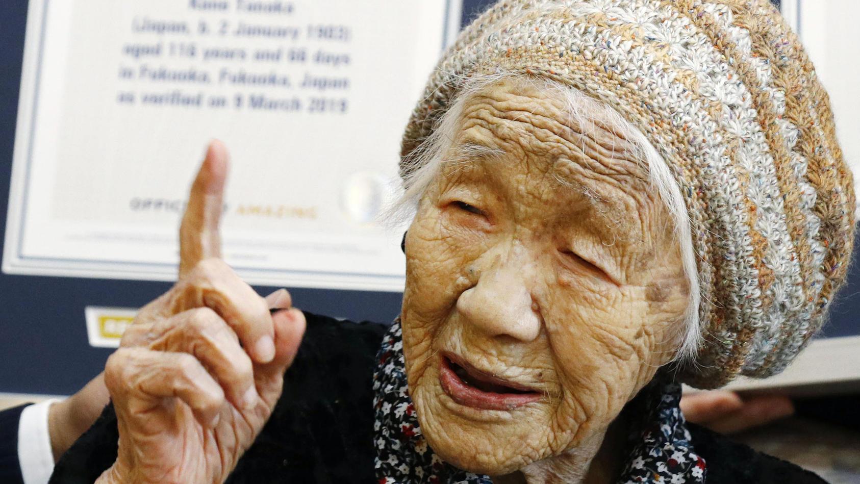 Ältester Mensch der Welt: Kane Tanaka