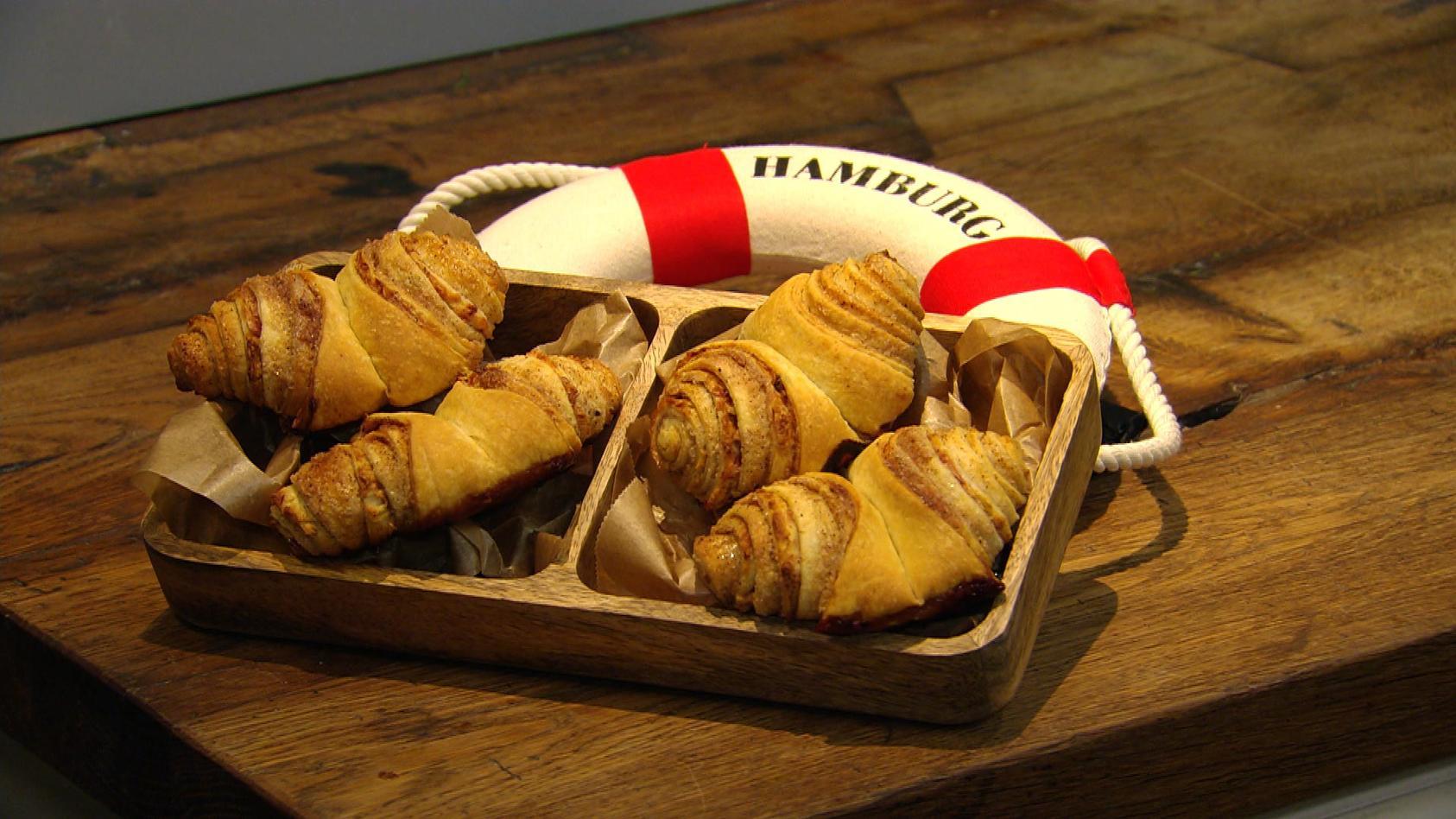 Regionale Küche – So is(s)t der Norden: Apfel-Franzbrötchen