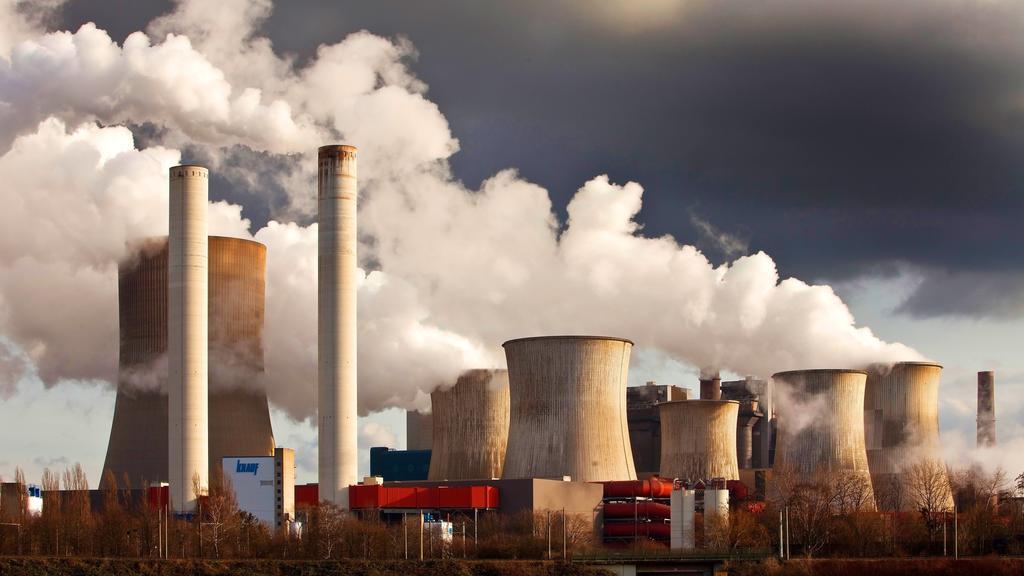 Braunkohlekraftwerk Niederaussem, Deutschland, Nordrhein-Westfalen, Bergheim brown coal power station Niederaussem, Germany, North Rhine-Westphalia, Bergheim BLWS519547 Copyright: xblickwinkel/S.xZiesex