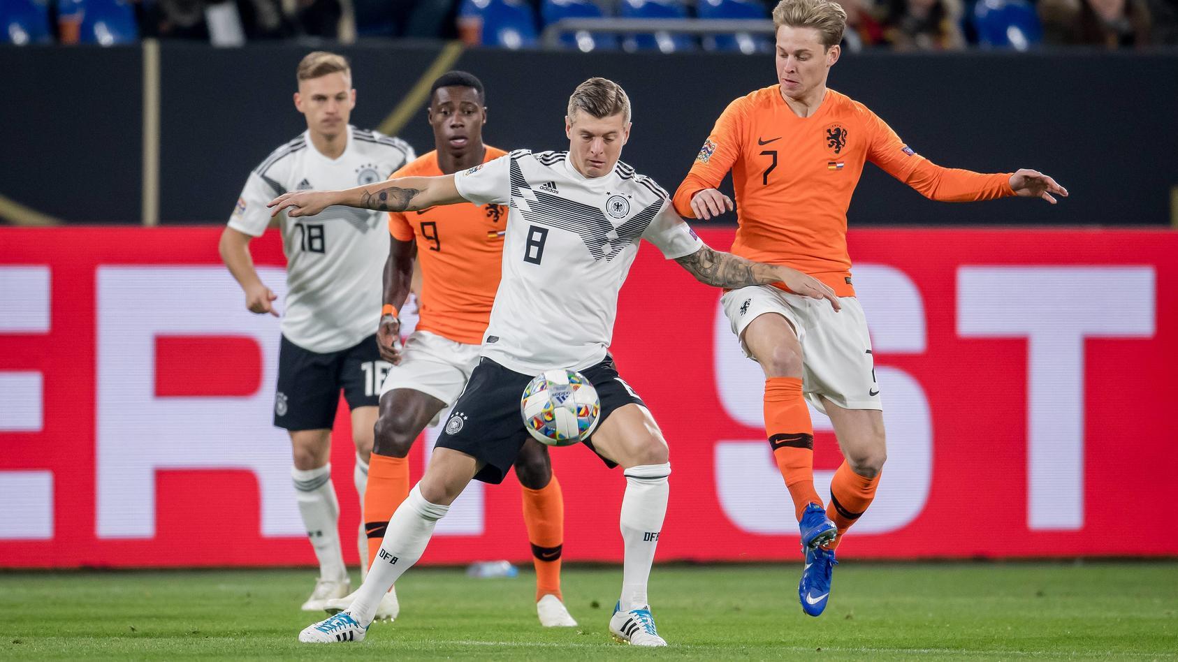 Deutschland sollte die Niederlande in der EM-Quali hinter sich lassen