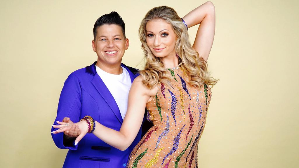 """Kerstin Ott tanzt mit Regina Luca bei """"Let's Dance"""" 2019."""