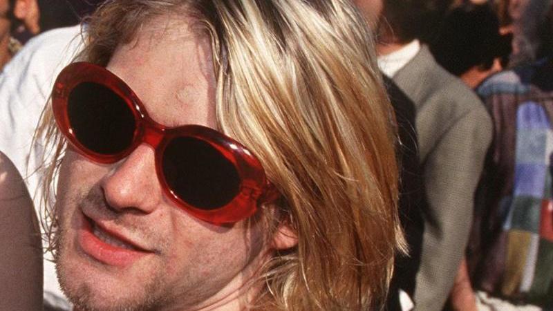 Kurt Cobain im Jahr 1993.