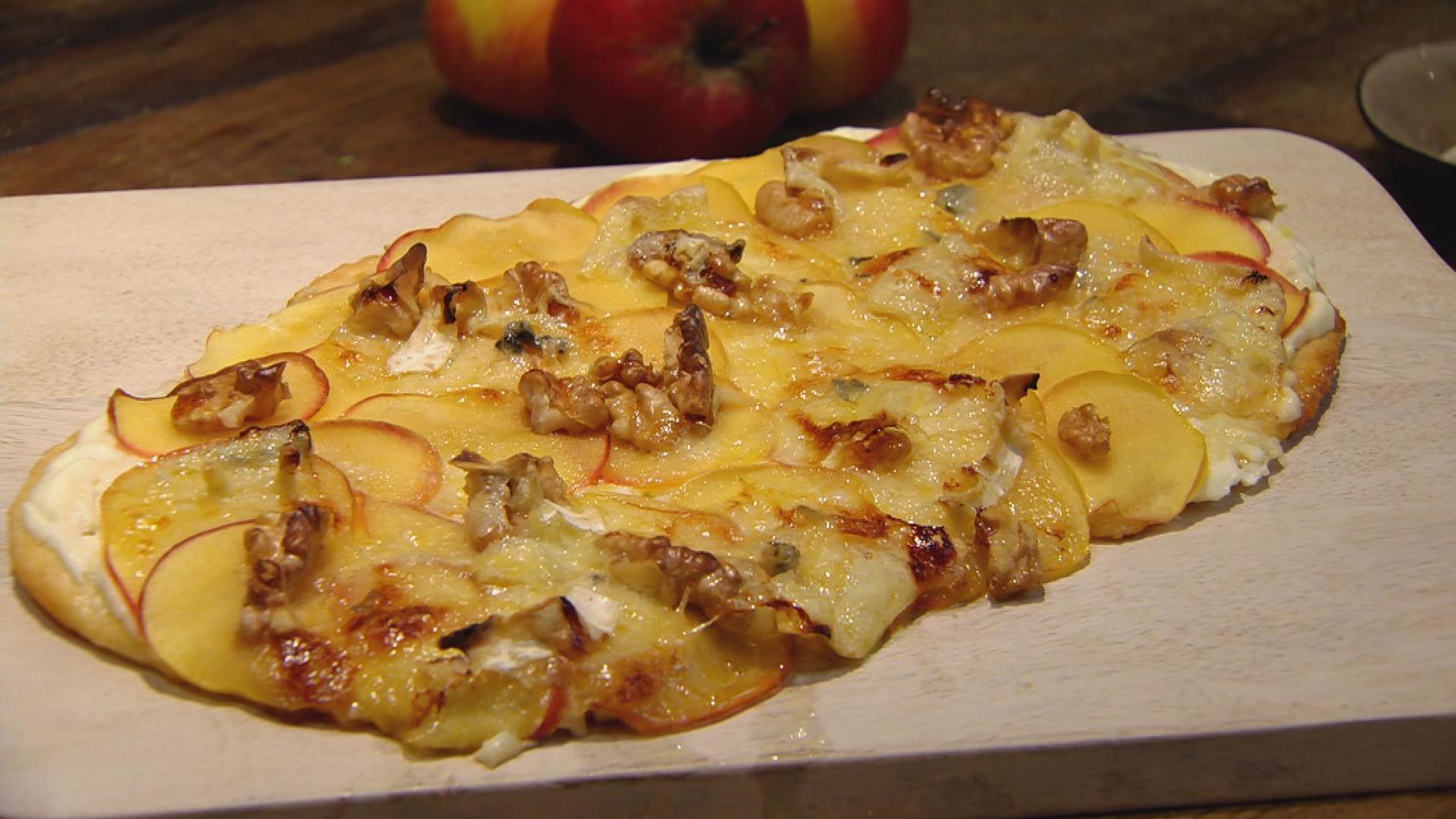 Teig ist Trumpf: Süße Apfel-Pizza