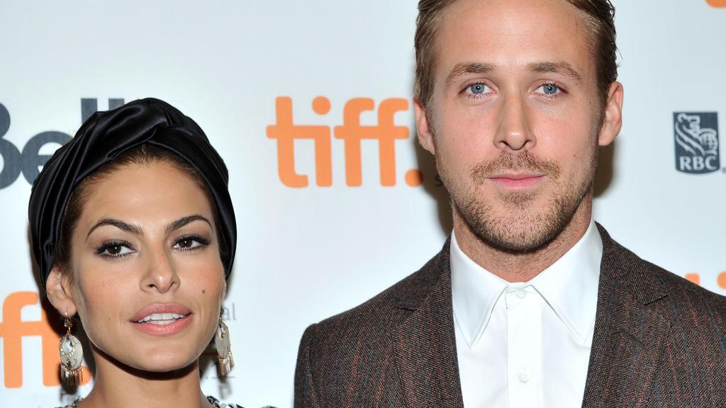 """Eva Mendes und Ryan Gosling bei der Premiere ihres gemeinsamen Films """"The Place Beyond The Pines""""."""
