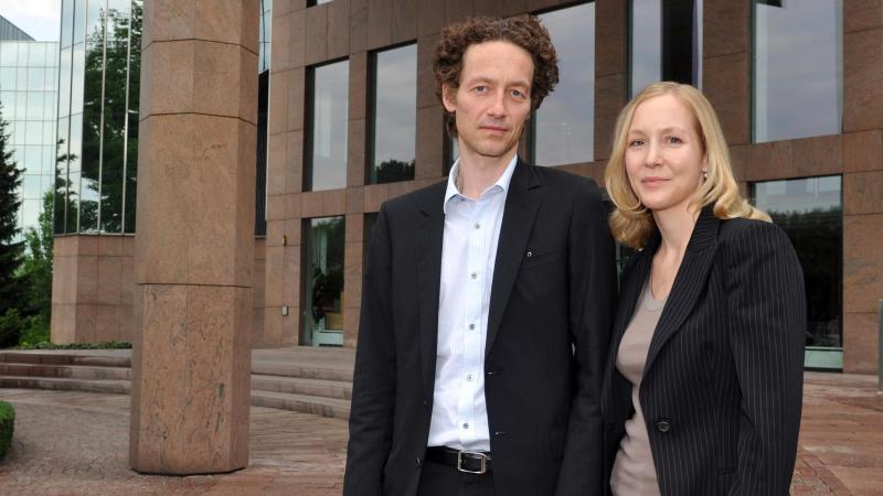 Lars und Meike Schlecker, Kinder des Ex-Drogeriemarktkönig Anton Schlecker. Foto:Stefan Puchner/Archivbild
