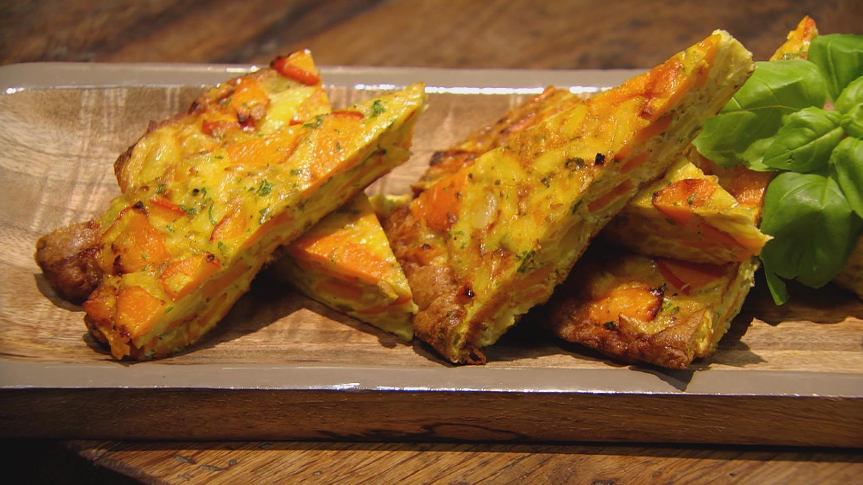 Ab in den Urlaub! Kulinarische Grüße aus Spanien: Kürbis-Kartoffel-Tortilla