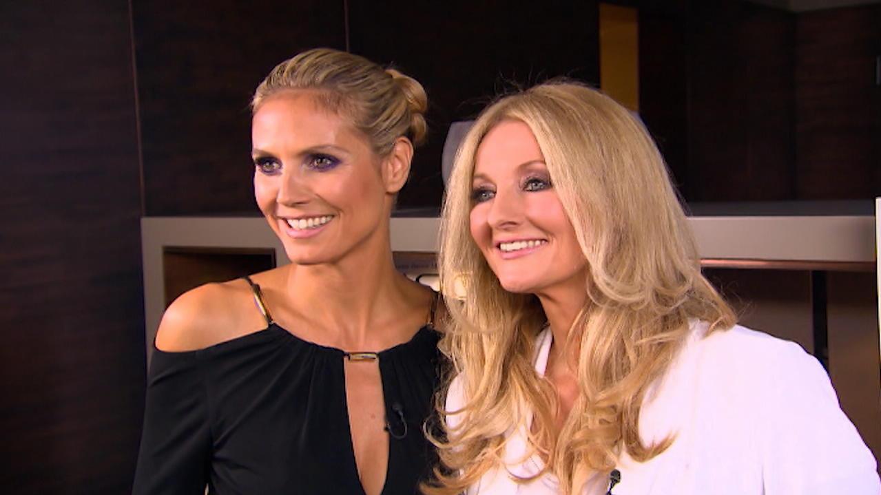 Heidi Klum und Frauke Ludowig haben sich schon oft getroffen.