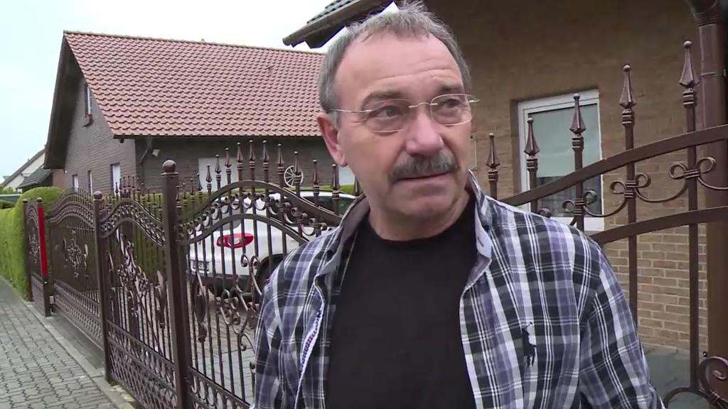 Markus Martczsak wohnt auch in dem kleinen Ort in Niedersachsen.
