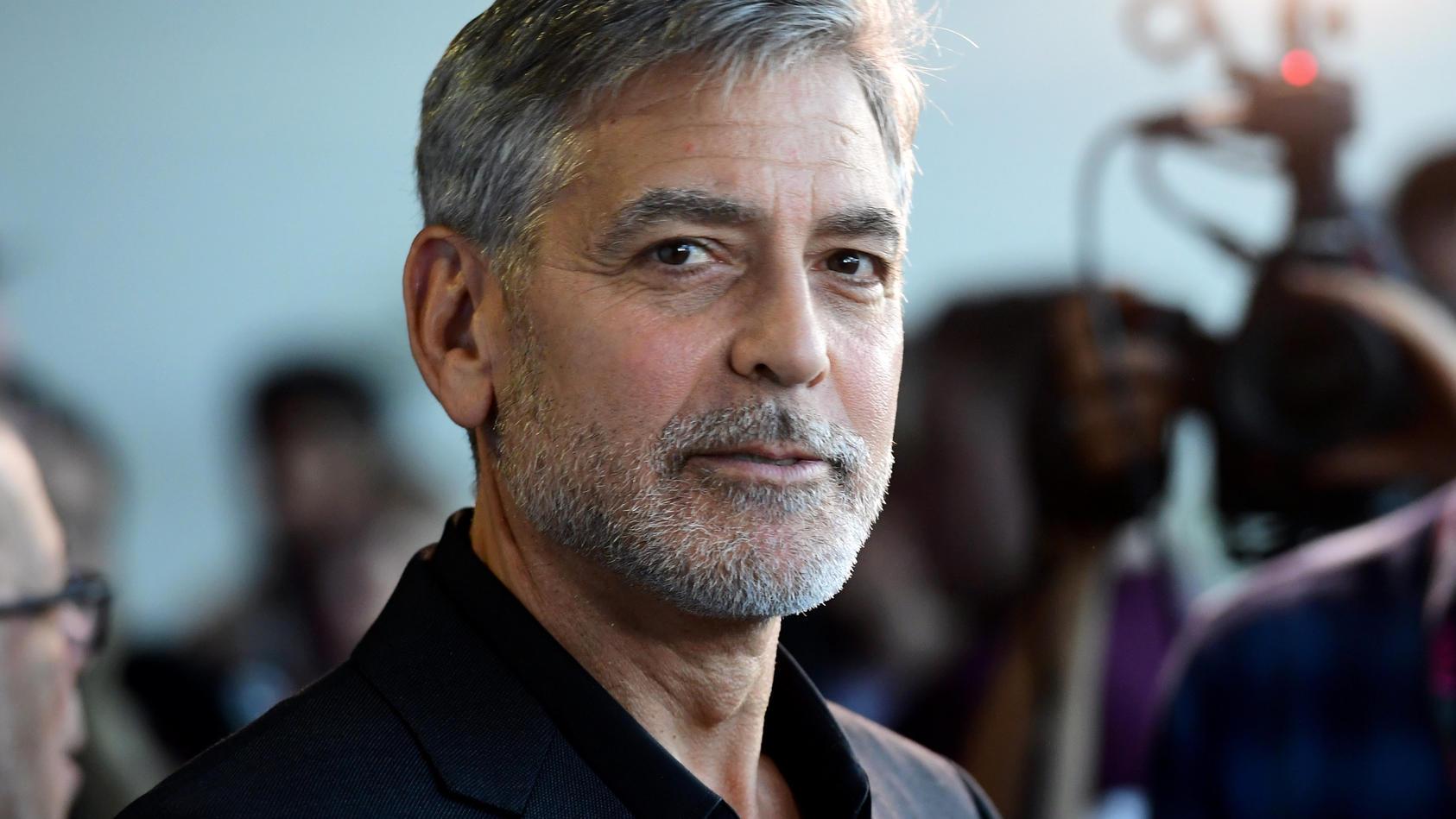 George Clooney ist zweifacher Vater.
