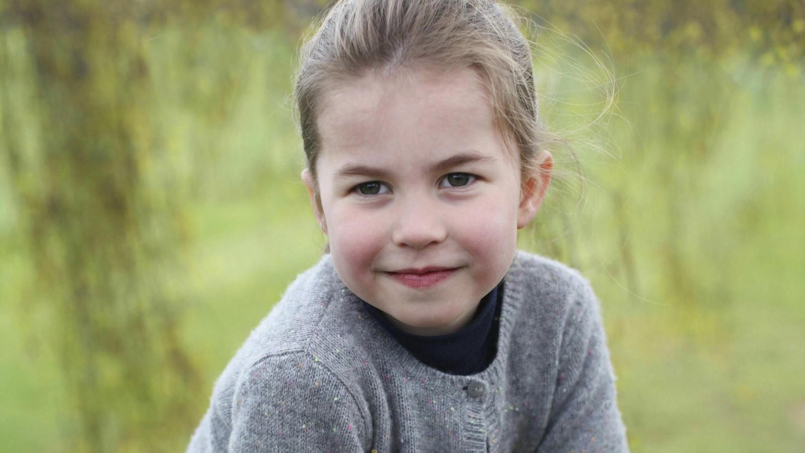 Prinzessin Charlotte (4) kommt im September in die Schule.