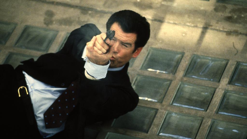 """Pierce Brosnan feierte seinen Einstand als Bond im Film """"GoldenEye"""" aus dem Jahr 1995."""