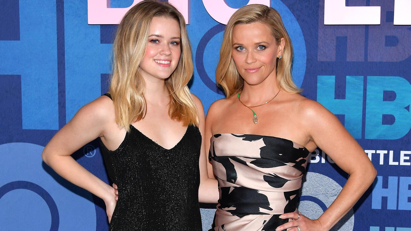 """Reese Witherspoon (40) mit Tochter Ava Elizabeth Phillippe (19) auf der """"Big Little Lies 2""""-Premiere."""